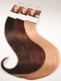 Echthaar Haarverdichtung mit Quikkies