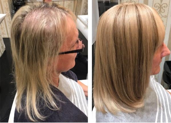 Haarverdichtung Haarverlängerung Wien